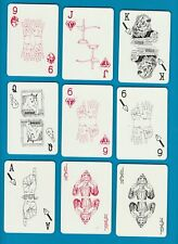 Playing cards finger signals on each card 52 + 2 special jokers. pretty deck#042