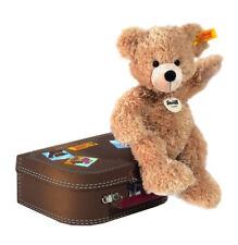 Steiff 111471 Teddybär Fynn 28 beige mit Koffer