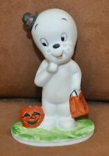 Casper the Friendly Ghost Halloween Ceramic Figure 1986 Harvey Pub Figurine