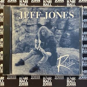 Jeff Jones - Ride CD + Hair Metal Gifts