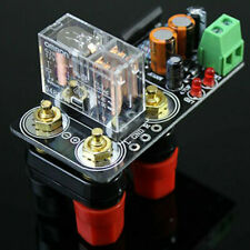 UPC1237 Dual Channel Speaker Protection Board Boot Delay AC12V-24V + Banana Plug