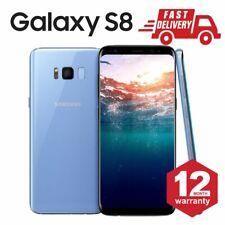 SAMSUNG GALAXY S8 64GB Android Cellulare Sbloccato 4G Blu Molto buono