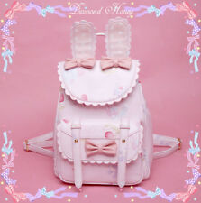Lolita Elegant Kawaii Japanese Sweet Backpack Bunny Ears Satchel Shoulders Bag