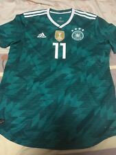 100% Official Marco Reus Germany World Cup 2018 Away Jersey Shirt Authentic