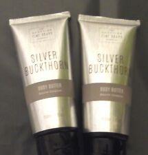 SCOTTISH FINE SOAPS 2 X 200ml TUBES SILVER BUCKTHORN BODY BUTTER