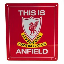 Liverpool FC Oficial Metal Sign esto es Anfield FREE (UK) P + P