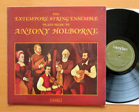 Meridian E77027 The Extempore String Ensemble Play Anthony Holborne 1980 NM/EX
