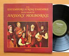 Meridian E77027 The Extempore String Ensemble Play Anthony Holborne 1980 NM/EX