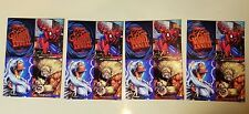 Flair Marvel Annual '95 Oversize Promo Card LOT OF FOUR vintage