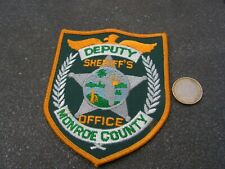PATCH POLICE ECUSSON COLLECTION  USA   police monroe county