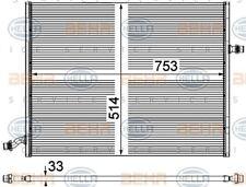 8MK 376 908-041 HELLA Radiator  engine cooling