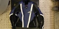 Alpinestars SMX Air-Flo RARE Leather Motorcycle Jacket - Men's 42 US 52 EU SEE