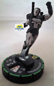 HEROCLIX Captain America and Avengers 053b PUNISHER WAR MACHINE Super Rare Prime