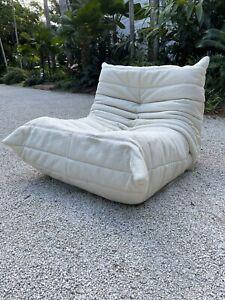 Ligne Roset Togo Fireside Chair - New Knoll Boucle Upholstery