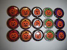 "Halloween Pumpkin  m2m Cute 1"" Craft Flatback Button Cabochon  Embellishments"
