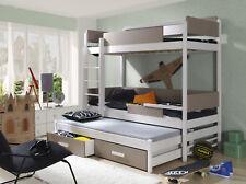 Etagenbett Für 3 Erwachsene : Paket etagenbett spark lein cm mit auszieh lattenrost