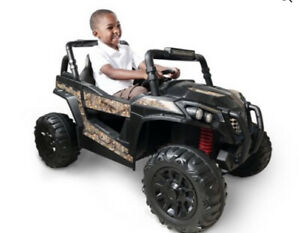 12 Volt Realtree UTV by Dynacraft with Working Light Bar!