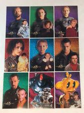 LOST IN SPACE MOVIE (Inkworks 1998) PROMO PRISM CHASE CARD SET of 9 (#KM1-KM9)