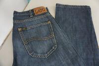 LEE Dillon Herren Jeans Hose 31/32 W31 L32 stonewashed darkblue TOP #14