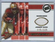 2002 Press Pass Football William Green Boston College Jersey Rookie Card 115/225