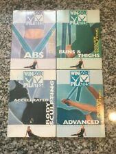 (4) Winsor Pilates Dvd Lot - Power Sculpting - Buns & Thighs, Abs, Advanced +