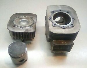 1990 Yamaha Phazer 480 Mag Side Std 72mm Engine Cylinder Jug, Head, & Piston