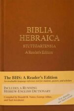 Biblia Hebraica Stuttgartensia : A Reader's Edition, Hardcover by Vance, Dona.