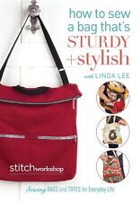 NEW! How To Sew A Bag That's Sturdy + Stylish with Linda Lee [DVD]