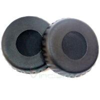 2 cuscinetti earpad NERI padiglioni ricambio per cuffie Sony MDR-XB600 mdr 600