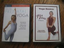 2 Dvds Yoga Zone Basics For Beginners & Prenatal Yoga Shiva Rea