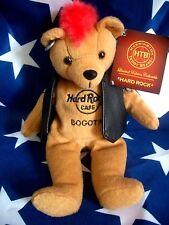 HRC HARD ROCK CAFE Bogota punk Bear Mohawk 2010 RED HAIR Herrington