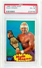 1985 Topps WWF Hulk Hogan #16 PSA 6!