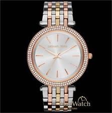 Michael Kors Damen Uhr Darci MK3203, tricolor NEU OVP
