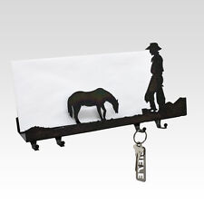 Cowboy & Horse Evening Break Key Hooks - Bulk, Set of 100 units