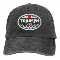 Triumph Logo cowboys Snapback Baseball Hat Adjustable Cap