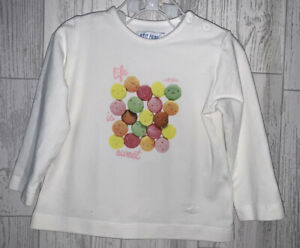 Girls Age 6-9 Months - Long Sleeved Top