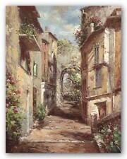 Italy Art Print Tuscan Village Normand Mayer