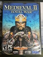Medieval II: Total War - PC DVD Computer game Complete