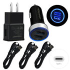 For Samsung Galaxy S20 S10 A21 A71 A51 Wall Car Charger USB-C Type-C Cable Cord