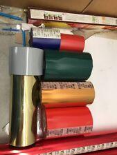 Hot Foil Heat Transfer Stamping Foil Gold Blocking Full Roll Bundle 7!!