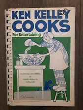 VINTAGE Ken Kelley Abbott Hospital Auxiliary 1977 Cookbook Recipes
