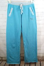 Victoria's Secret PINK Sweatpants Light Blue Sz Small Lounge Pants French Terry
