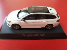 1/43 Norev Peugeot 308 SW GT Line 2017 perlweiß 473818