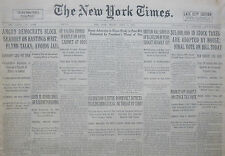 4-1932 April 1 IRELAND DE VALERA CURB OATH REPLY STALIN WIFE CITED SIR HADFIELD