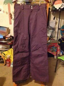 Burton Women's Purple Radar Snowboard Snow Pant Ski size S Small