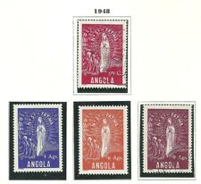 Angola 1948 - Our Lady of Fátima set used / MH