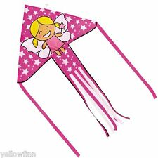 Brookite Fairy Delta Kite Outdoor Fun Easy To Fly Childrens Kids Kite 100x151cm