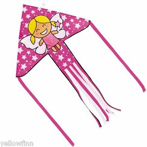 Brookite Fairy Delta Kite Outdoor Fun Easy To Fly Childrens Kids Kite 100x151cm