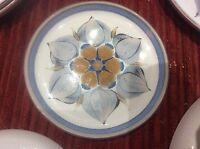 "Denby  Langley Pottery Chatsworth Pattern Side Plate Handpainted Stoneware 6.5"""