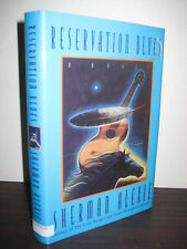 SIGNED 1st Edition RESERVATION BLUES Sherman Alexie NOVEL First Printing FICTION